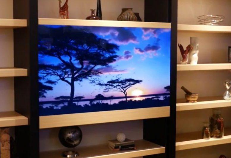 televisore trasparente panasonic